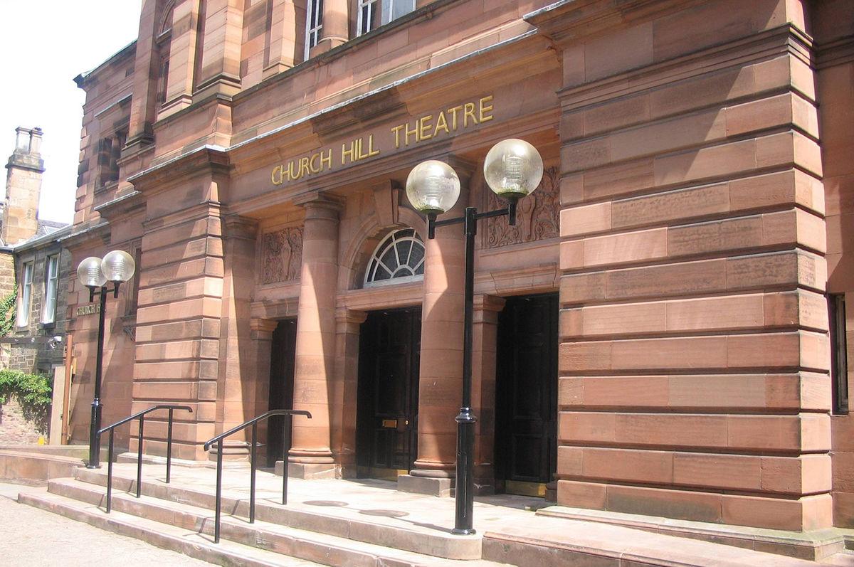Chuch Hill Theatre Exterior Day