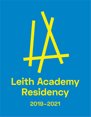 Leith Academy Brand Yellow On Blue