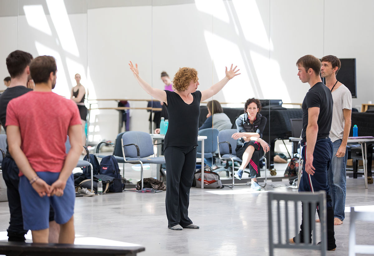 The Crucible Rehearsals © Andy Ross 5
