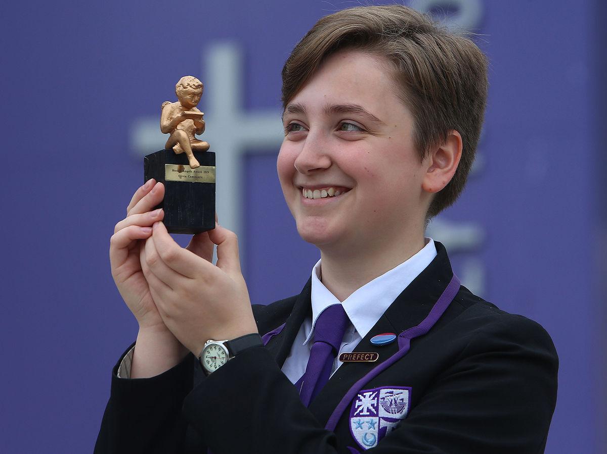 Wee Cherub Winner Olivia Campanile Holyrood Rc High School Photo Gordon Terris 3