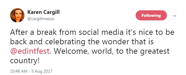 Karen Cargill On Twitter